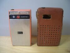 Vintage HITACHI TH-627R Transistor 6 Radio TH 627R