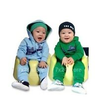 BABY BOY SPORTY HOODIES DAD'S TEAM ZIP TRACKSUIT Romper 0-24 mos 00.0.1.2