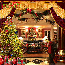 Christmas 10'x10' Computer-painted Indoor Scenic background backdrop SU455B881