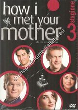 HOW I MET YOUR MOTHER STAGIONE 3 COFANETTO 3 DVD NUOVO