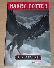 Harry Potter and the Prisoner of Azkaban J.K.Rowling 1st/1st Edition Adult P/B