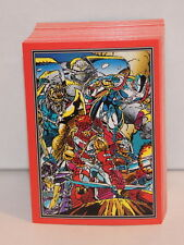 Complete Set YOUNGBLOOD COMIC Trading CARDS (Comic Images/1992) ROB LIEFELD NEW