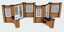 Building Products Showroom or Trade Show Window & Door Displays Fixtures