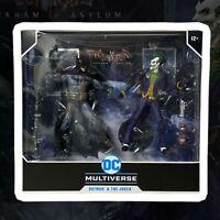 Dc Multiverse Action Figure Arkham asylum Batman e Joker McFarlane Toys