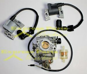 HONDA GX620 20HP CARBURETOR AND IGNITION COILS FOR LEFT AND RIGHT. USA!!