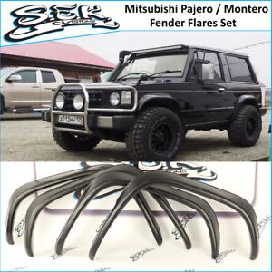 Mitsubishi Pajero Montero Fender Flares Set , MK1 2-door 1982-1991 Wheel Arches