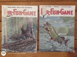 Fur-Fish-Game Magazine 2 Vintage 1977 Issues~ May + June