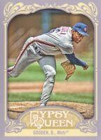 2012 Topps Gypsy Queen Baseball #295 Doc Gooden New York Mets