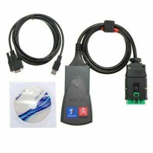 Scanner Voiture Lexia3 PP2000 avec logiciel Diagbox V7.83 pour Citroen/Peugeot