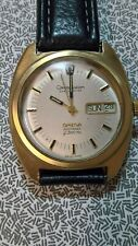 MINT dial OMEGA CONSTELLATION ELECTRONIC GP/SS mens watch for SPARES/REPAIRS