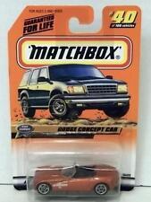 MATCHBOX DODGE CONCEPT CAR #40 ORANGE MINT ON CARD DIECAST 1999
