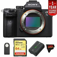 Sony a7 III Mirrorless Digital Camera (Body Only) Starters Kit