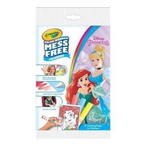 Crayola Color Wonder Mess Free Coloring Kit Disney Princess
