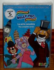 LA VUELTA AL MUNDO DE WILLY FOG LA SERIE COMPLETA 5 DVD PRECINTADO NUEVO DIBUJOS