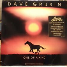 DAVE GRUSIN One of a Kind - Ron Carter EX Vinyl - Rare LIMITED Promo GRPF-7702