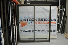 Aluminium Sliding Door 2100h x 1810w Woodland Grey NEW IN STOCK INCLUDES REVEALS