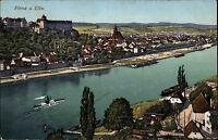 1916 Stempel PIRNA a.d. Elbe auf Feldpost-AK nach Beiersdorf bei Löbau gelaufen