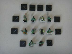 TEN OOP WARHAMMER METAL ORC & GOBLIN NIGHT GOBLINS