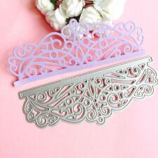 New Lace Cutting Dies Stencil Scrapbook Album Paper Card Embossing Craft DIY FR