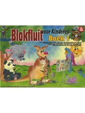 Blokfluit Voor Kinderen Boek 1 Dutch CD DVD Learn to Play MUSIC BOOK CD DVD