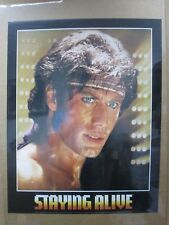Vintage Poster Staying alive movie Travolta movie 1983 Inv#G1275