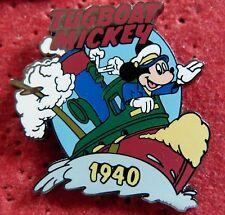 BEAU PIN'S WALT DISNEY MICKEY TUGBOAT 1940 ZAMAC