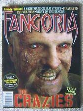 FANGORIA MAGAZINE # 291 MARCH 2010 THE CRAZIES PIRANHA 3D NIGHT OF THE DEMONS