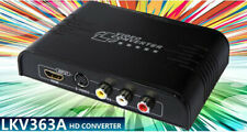 Composite/S-Video& HDMI to HDMI Converter, S-Video/RCA to HDMI Adapter Up-Scaler