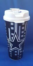 Dallas Cowboys NFL Licensed 16 oz Plastic Travel Mug NEW
