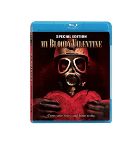 My Bloody Valentine Special Edition Blu Ray Disc Authentic Horror Movie Collect