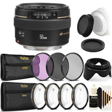 Canon EF 50mm f/1.4 USM Lens Accessory Kit for Canon T3i T2i T1i 60D