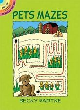 Pets Mazes (Dover Little Activity Books) by Becky Radtke