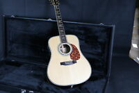 41'' D-45E Acoustic Electric Guitar Fishman EQ Solid Spruce Top Grover Tuner