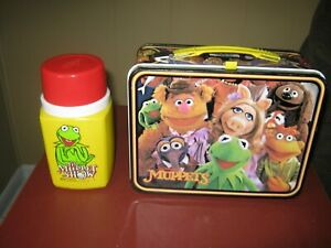 1979 JIM HENSON'S THE MUPPETS  LUNCHBOX AND THERMOS