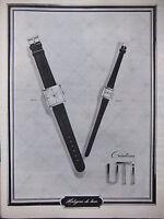 PUBLICITÉ DE PRESSE 1964 CRÉATIONS UTI HORLOGERIE DE LUXE - ADVERTISING