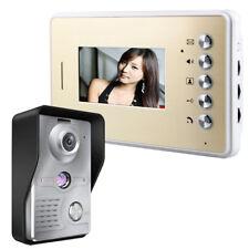 4.3 Inch Video Door Phone Doorbell Intercom Kit 1-camera 1-monitor Night Vision