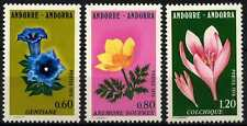 Andorra French 1975 SG#F264-6 Flowers MNH Set #D71783