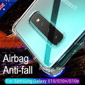 For Samsung Galaxy S10 S10+ Plus S10e Clear Case Heavy Duty Slim Bumper Cover