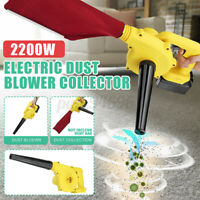 2-In-1 Handheld Home Car Air Vacuum Blower Dust Sustion Collector Cleaner 900W
