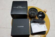 Fujifilm TCL-X100 II Excellent Condition Telephoto Attachment X-100f Fuji + UV