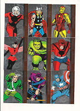 Avengers: Silver Age Avengers Assemble Complete Insert Set ( 17 Cards)   NICE!!!