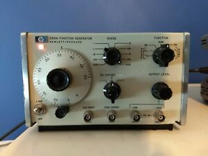 HP 3310A Function Generator, Tested and Working, Read Description