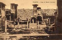 Postcards Italy Pompei Casa di Marco Lucrezio unposted