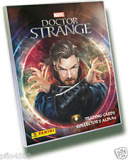 MARVEL DOCTOR STRANGE TRADING CARD COLLECTION COMPLETE SET & ALBUM TO COMPLETE