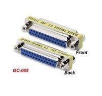 DB25 F/F Serial/Parallel Slim Gender Changer, GC-008