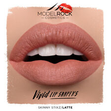 MODELROCK Vivid Lip Shapers Skinny Stixz LATTE  lipstick lipliner pencil liner