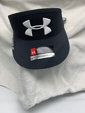 Under Armour Mens Pro Style Core Golf High Crown Visor Black NWT