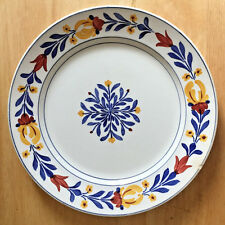 """Villeroy and Boch Plate Dresden Saxony Algonquin Floral Pattern 9-3/4"""""""