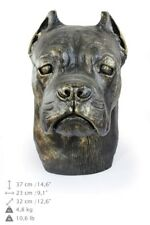 Cane Corso - dog head resin figurine, high quality, Art Dog