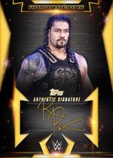 500cc Topps SLAM WWE Roman Reigns RELIC Road to Wrestlemania 33 DIGITAL CARD